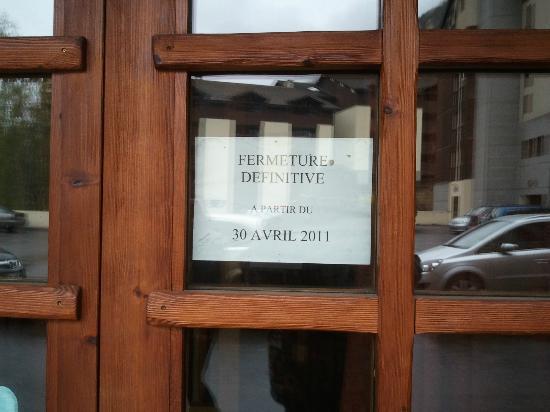 Residence Cybele: FERME DEPUIS AVRIL 2011