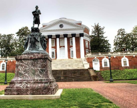 University of Virginia: View from the street