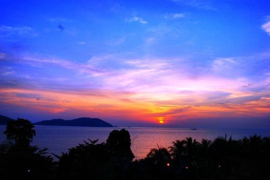 Swiss-Garden Beach Resort Damai Laut: اطلالة الفندق على جزيرة بانكور