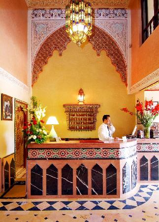 Amani Hotel Appart: Amani's Front Desk