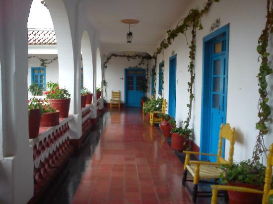 Santa Prisca: Pasillo planta alta