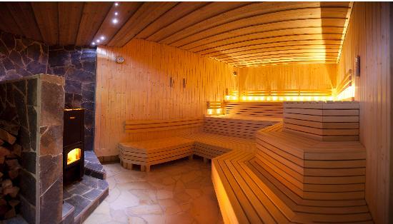 Vital & Wellnesshotel zum Kurfuersten: Holzofensauna