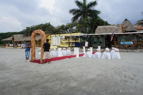 لو ديلفينا بيد آند بريكفاست بار آند جريل هوتل: Wedding set up