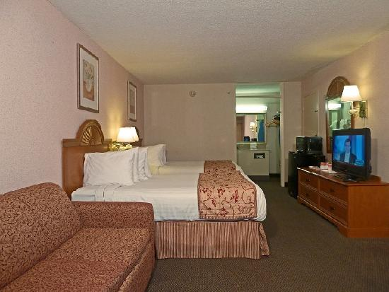 Ramada Asheville / Biltmore West: Deluxe Double Bed Guest Room