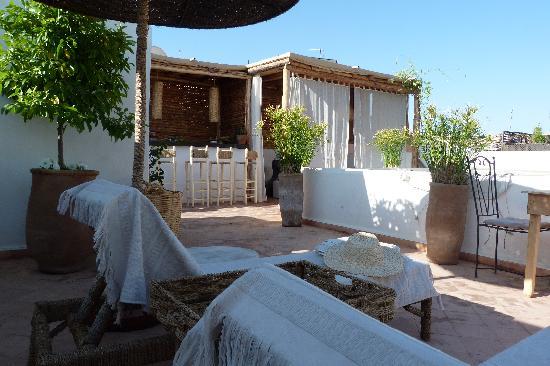 Riad les Orangers d'Alilia Marrakech: La Terrasse nouvelle