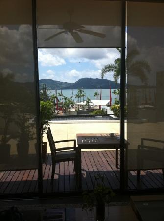 IndoChine Resort & Villas: from the living room