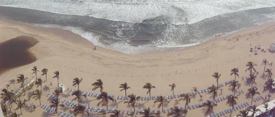 Playa Brujas: Vista desde el Hotel Riu
