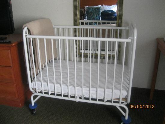 Comfort Inn Kalamazoo: Crib