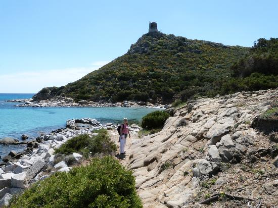Area Marina Protetta Capo Carbonara : Old spanish tower
