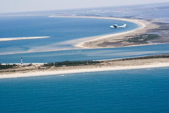 Southern Air at MRH: Cape Lookout Air Tour