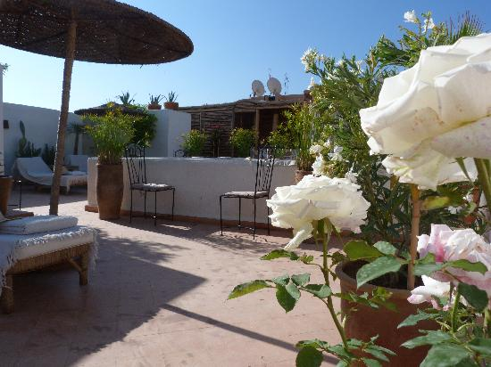 Riad les Orangers d'Alilia Marrakech: LA TERRASSE