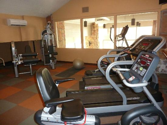 Cedar Breaks Lodge: The gym