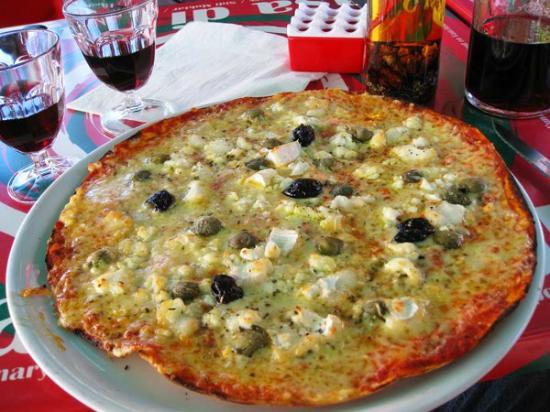 Casa di Paolo: une très croustillante et goûteuse pizza !