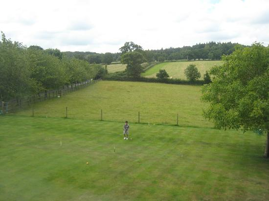 Larkbeare Grange: Vista desde la habitación