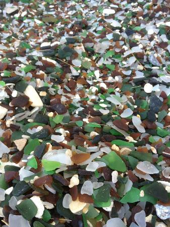 Sea Glass Beach: So much sea glass to be found!