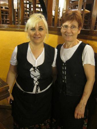 El Tiberi bufet gastronomía tradicional catalana: The staff