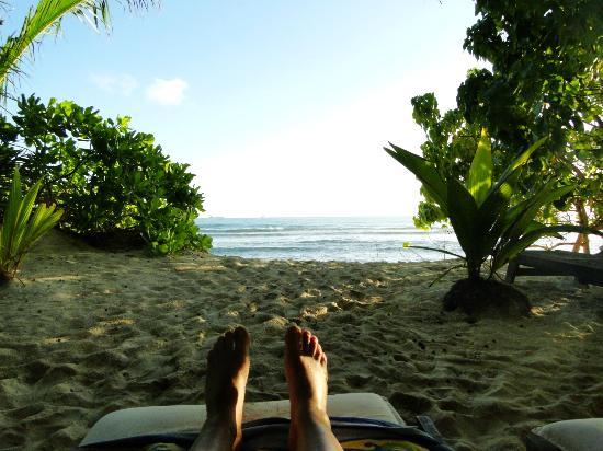 Villas Du Voyageur: Beach