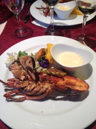 Le Bicorne: Le plat de homard