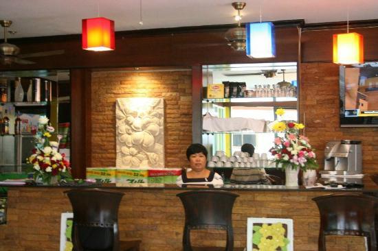Hotel Sutin: reseption