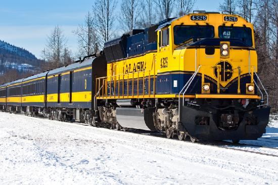 Aurora Winter Train - Day Tours