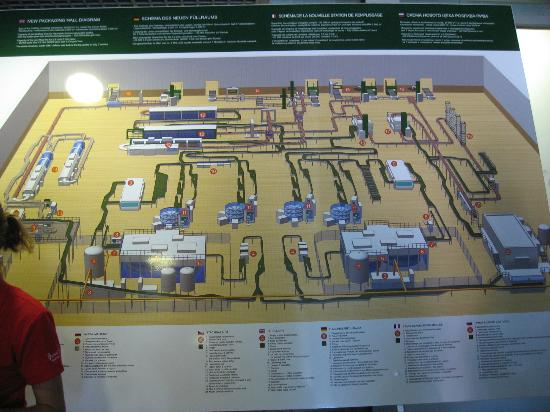 Brewery Layout Picture Of Pilsner Urquell Brewery