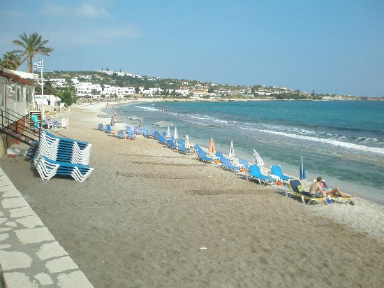 Hersonissos Palace Hotel Nearest Beach Area This Is The Best Bit Of Beach