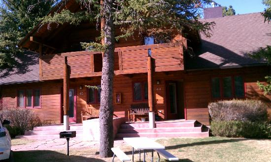 Rams Horn Village Resort: One of the places we stayed