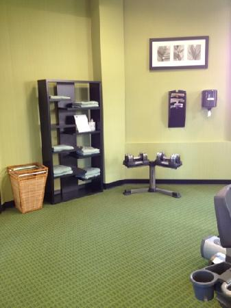 Fairfield Inn & Suites Cleveland Beachwood: gym