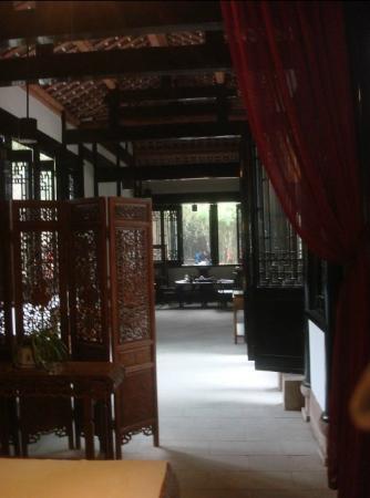 Du Fu Cottage: inside