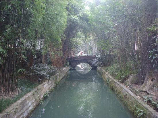 Du Fu Cottage: bridge