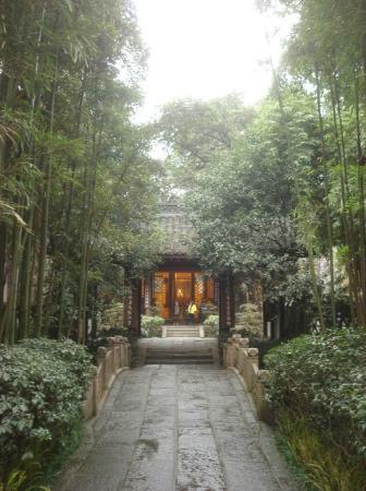 Du Fu Cottage: path