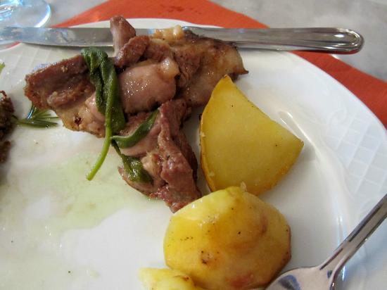 Mami Camilla Cooking School : lamb and potatoes