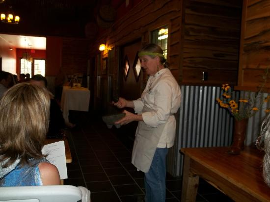 Sandy Oaks Olive Orchard: Great Chef