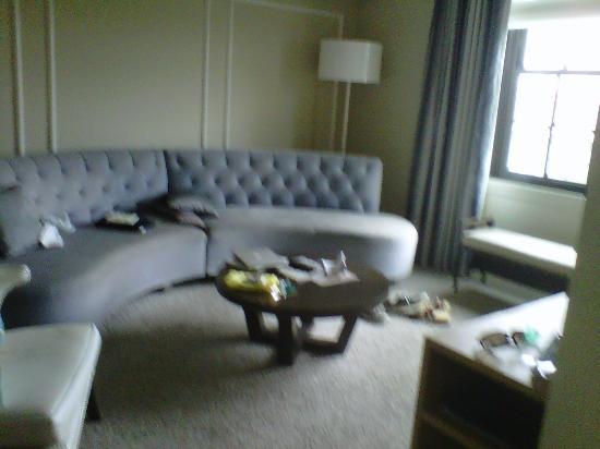 W Washington DC Marvelous Suite Living Room