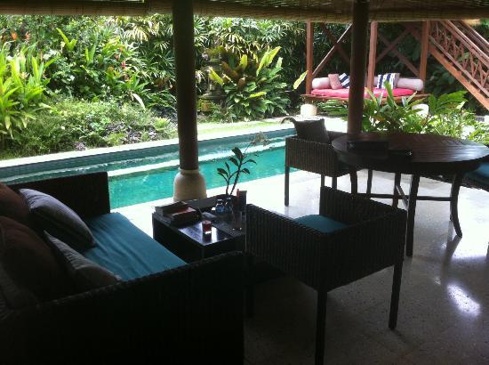 Tamu Seseh: dining pavilion