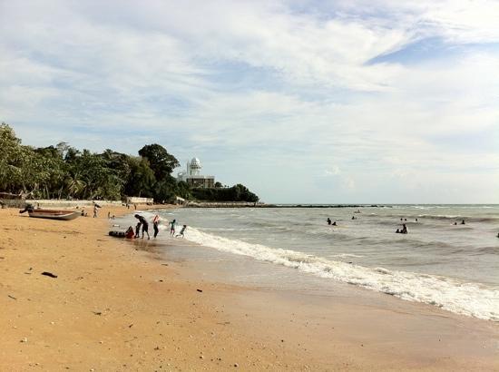 Ancasa Resort AllSuites: A view of the beach.