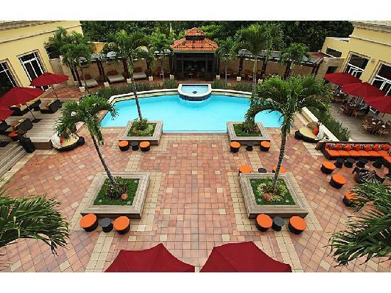Real InterContinental Tegucigalpa at Multiplaza Mall: Pool Area