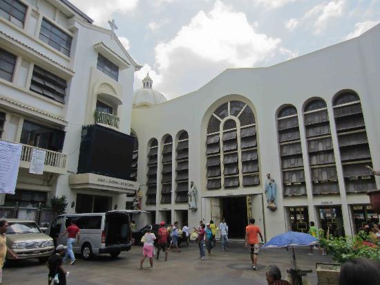 Quiapo Church side entrance