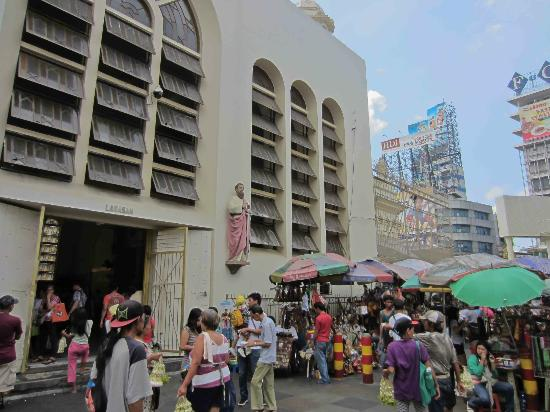 Outside Quiapo Church