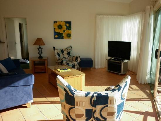 Alex Seaside resort: The living area