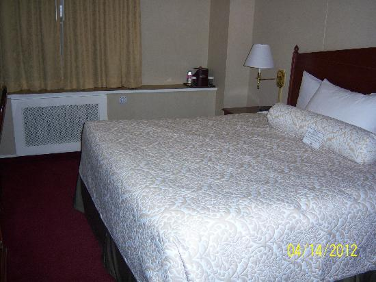 Westmark Baranof Hotel: Comfortable Bed