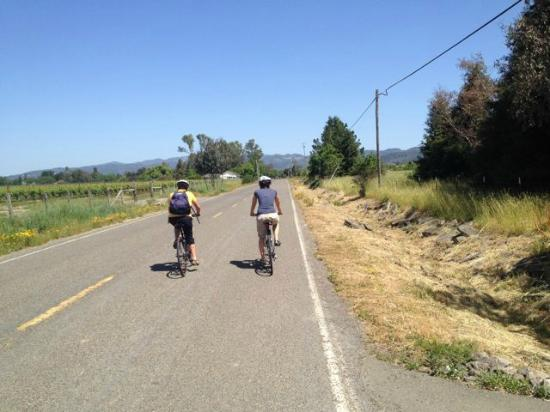 Sonoma Valley Bike Tours & Rentals: pedal power