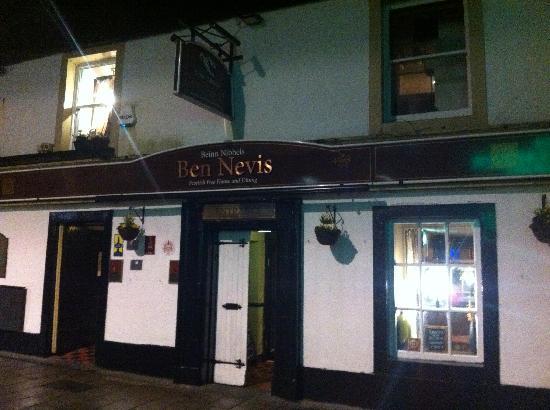 Ben Nevis Bar and Restaurant: Ben Nevis Restaurant