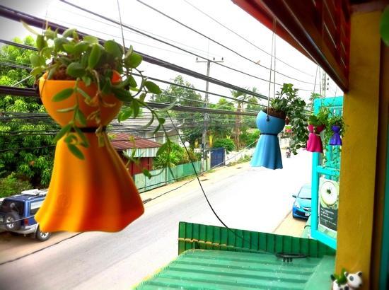 Yellow Green Coffee Shop: view