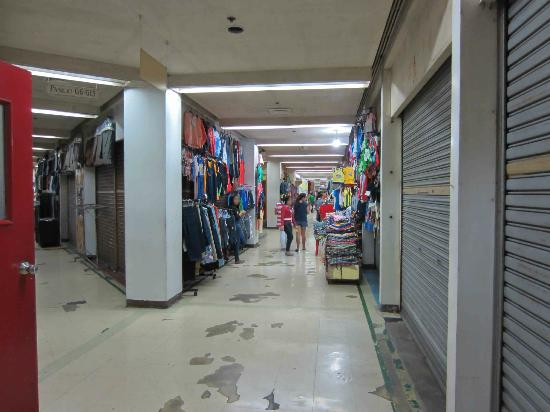 Corridors inside Tutuban Mall
