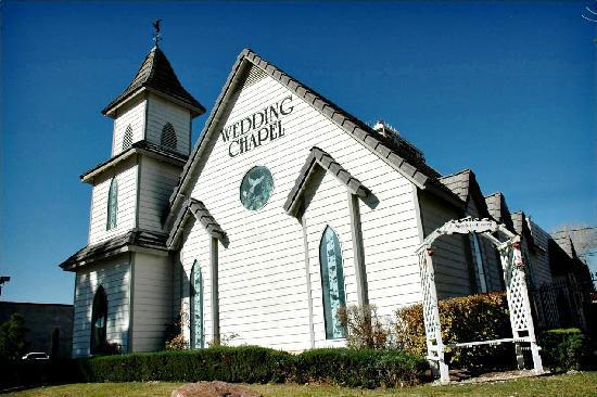 A Special Memory Wedding Chapel Exterior Grounds