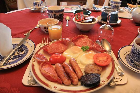 Ceann Tra Heights Bed and Breakfast : Breakfast