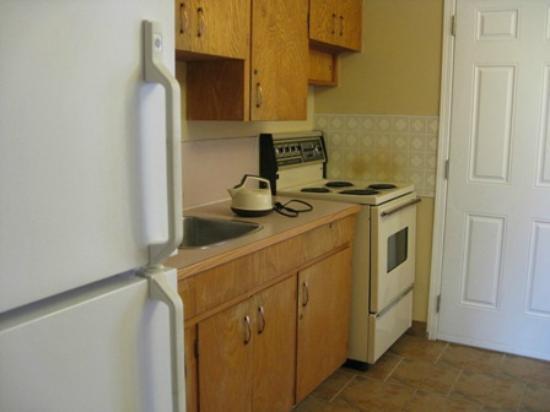 Sahara Courtyard Inn: Kitchen