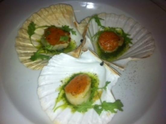 Quayside Restaurant: Scallop Starter