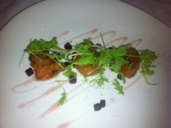 Quayside Restaurant: Salmon starter
